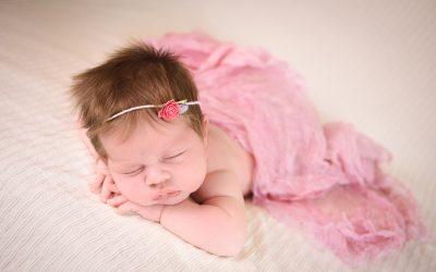 Baby T's newborn portrait session
