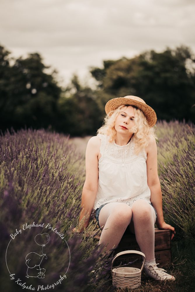lavender field photo shoot