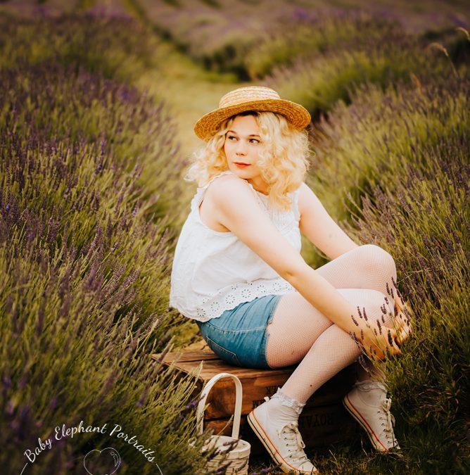 Lavender photoshoot!