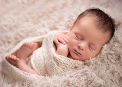 newborn photo soft fluffy white